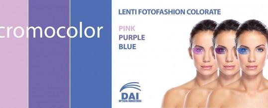 """Le nuove lenti """"fotofashion"""" colorate"""