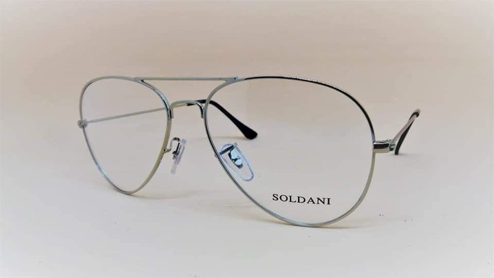 Occhiale da vista Soldani modello aviator